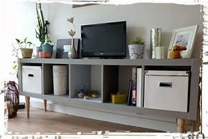 Ikea Pied De Meuble : une nouvelle vie pour un meuble ikea attention pour fixer les pieds le meuble est creux ici ~ Dode.kayakingforconservation.com Idées de Décoration
