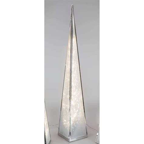 einrichten24 eine gute entscheidung formano pyramide aus metall mit sternfolie drehend led