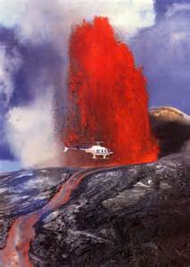 Hawaii Island Volcano Eruption
