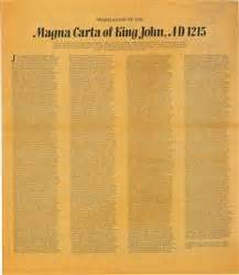 """Magna Carta- the """"Great Charter"""" of rights, which King ..."""