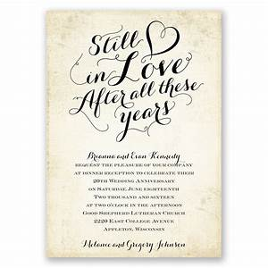 still in love anniversary invitation invitations by dawn With 1st wedding anniversary invitations wording
