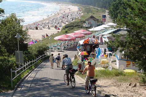 strandpromenaden der insel ruegen