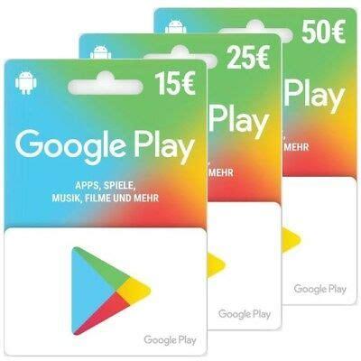 google play guthaben karte deutschland