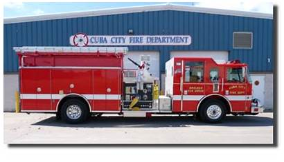 Fire Cuba Department Towns Elk Smelser Proudly