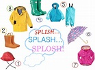 A Rainbow inspired wet weather wardrobe for boys and girl ...
