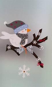 Basteln Winter Vorlagen : fensterbild vogel auf dem zweig winter weihnachten dekoration tonkarton fensterbilder ~ Watch28wear.com Haus und Dekorationen