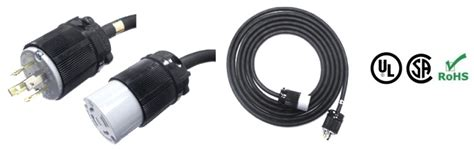 nema  amp locking extension cords           power cables
