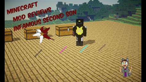 minecraft mod reviews infamous second son mod youtube