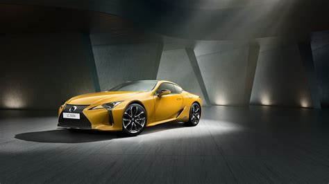 Lexus Lc 500h Yellow Edition 2018 4k Wallpapers