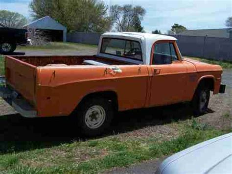 You can get the best discount of up to 77% off. Buy used 1970 Dodge Power Wagon W100 Sweptline SWB (Short ...