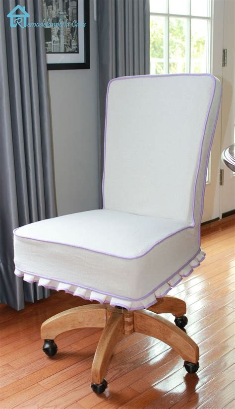 desk chair slipcover from drab to glam colors chairs and drop cloths