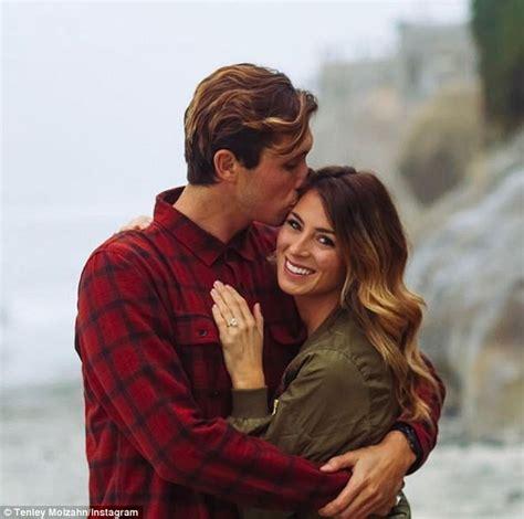 The Bachelor alum Tenley Molzahn announces her engagement