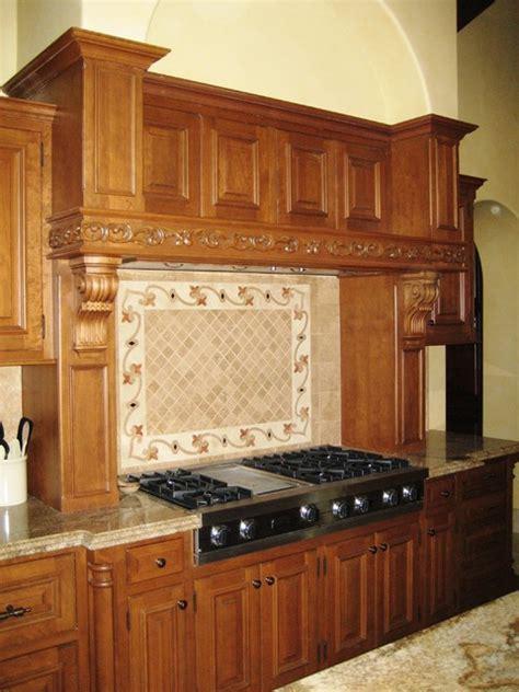 Custom Mantle Hood   Mediterranean   Kitchen