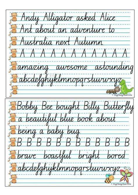 handwriting copy cards nsw cursive speed loopsjpgpage