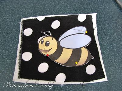 Notions From Nonny Darling Bumble Bees Easy Presmocked Skirt