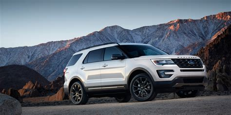 ford explorer rumored     hp st trim