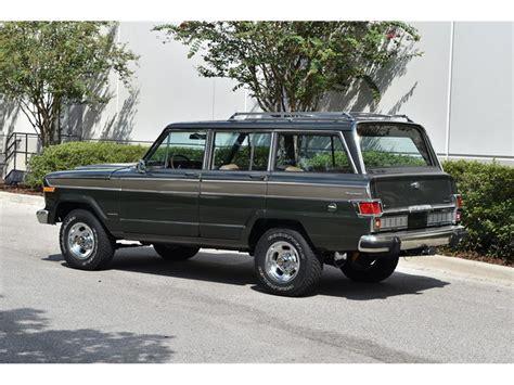jeep wagoneer  sale classiccarscom cc