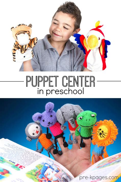 puppet center in preschool pre k and kindergarten 137 | preschool puppet center