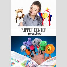 Puppet Center In Preschool Prek And Kindergarten