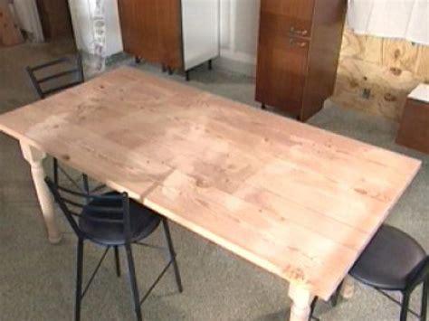 Build A Diy Wood Table  Howtos  Diy