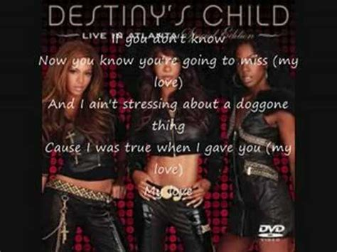If  Destiny's Child With Lyrics Youtube