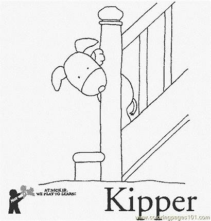 Stairs Coloring Kipper Pages Coloringpages101 Miscellaneous