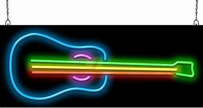 Neon Signs Guitar Memorabilia Sign Jantecneon Fifty