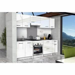 Caisson Haut Cuisine : meuble haut cuisine 120 cm achat vente pas cher ~ Nature-et-papiers.com Idées de Décoration