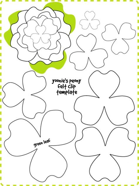 3d flower template how to make felt flowers 37 diy tutorials guide patterns