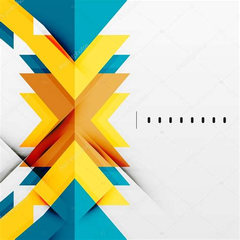 Abstract Minimal Shapes by Futuristic Geometric Shapes Minimal Design Stock Vector