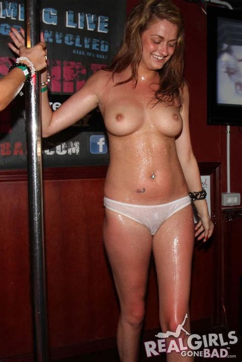 Real Girls Gone Bad Get Naked And Wild At A Bar