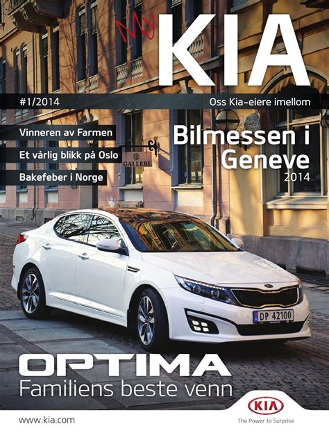 My Kia by My Kia 1 2014 By Kia Bil Norge As Issuu
