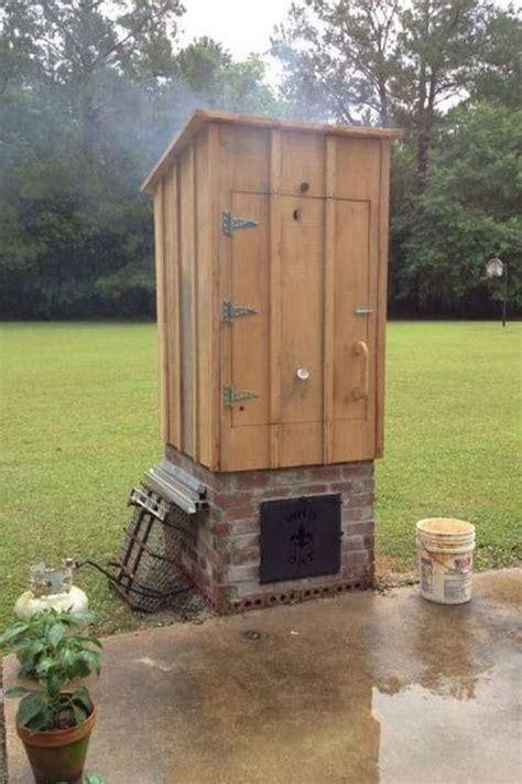 build   timber smoker wood smokers homemade