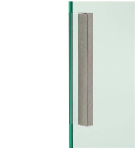 poignee de porte en verre poign 233 e de porte en verre autocollante mat 150x12x8mm ref bo5113722 bohle 78 00