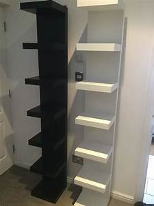 Ikea, Lack, Wall, Shelf, Units, White, Black, Sold, In, Hertsmere, For, U00a325, 00, For, Sale