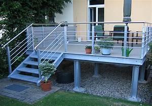 wwwmetallbau grahlde With französischer balkon mit terrassen treppen in den garten