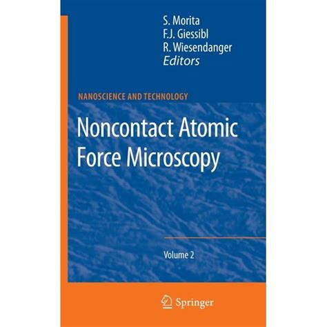 Roland wiesendanger, author of scanning probe microscopy: Nanoscience and Technology: Noncontact Atomic Force ...