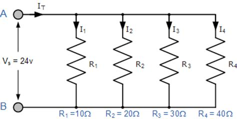 Resistors Parallel Connected