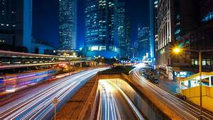 Free Images : road, skyline, traffic, street, night, city ...