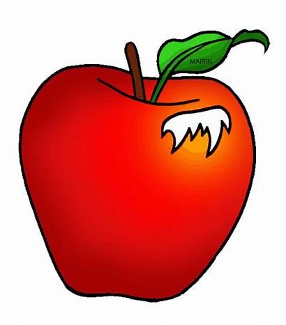 Apple Clipart Clip Apples Martin Graphic Cliparts