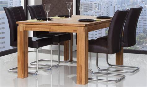 tisch eiche ausziehbar esstisch tisch ausziehbar maison eiche massiv 160 250x100 cm kaufen bei sylwia lesniewska