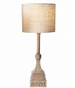 burlap tapered lamp shades from pottery barn With buffet lamps pottery barn