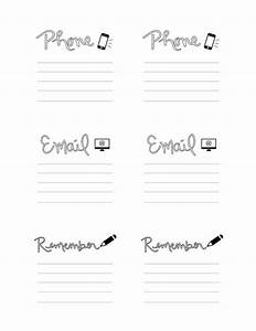 5 best images of printable post it note project management With post it note cover template