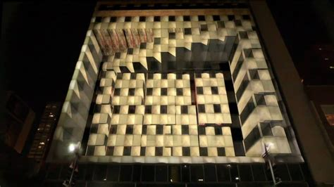 projection mapping promoting  tourist  dallas
