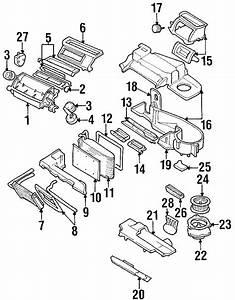 Chevrolet Lumina Hvac Unit Case  Manual Ac  Valve Case  W