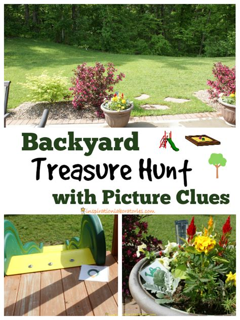 Fuels Backyard Get Togethers Riddles by Backyard Treasure Hunt With Picture Clues Inspiration