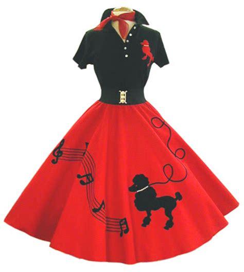 haute  fauxie poodle skirts