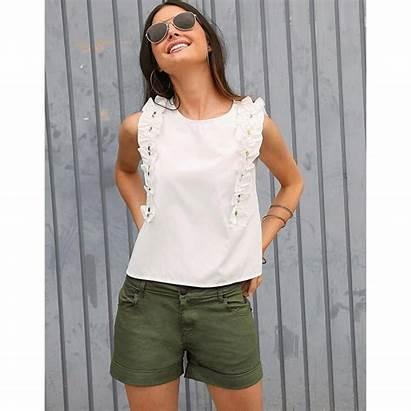 Femme Short Vert Suisses Wishlist Mode Shorts