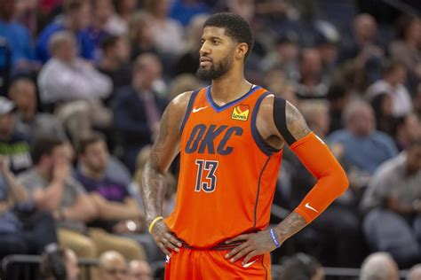 thunder trade paul george  clippers hoops rumors