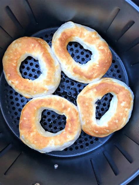 donuts air fryer sugar cinnamon fried biscuit biscuits deep grands dough using